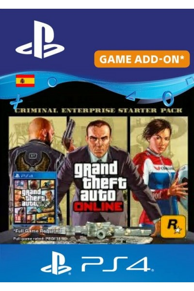 Grand Theft Auto Online - Criminal Enterprise Starter Pack PS4 (Spain)-PC  Code