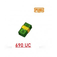 690 Unknown Cash - PUBG Mobile UC