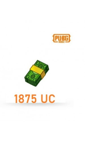 PUBG Mobile UC – 1875 Unknown Cash