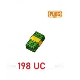 198  Unknown Cash - PUBG Mobile UC