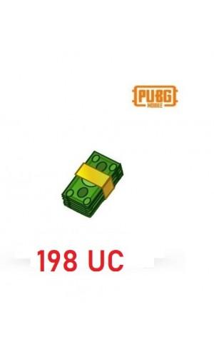 PUBG Mobile UC – 198 Unknown Cash