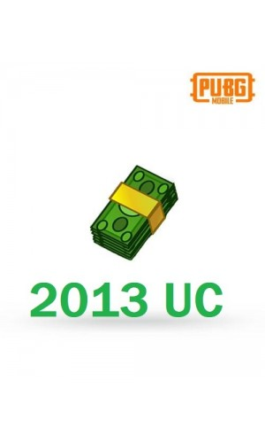 PUBG Mobile UC –2013 Unknown Cash