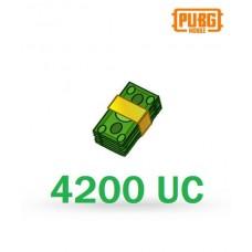 4200 Unknown Cash - PUBG Mobile UC