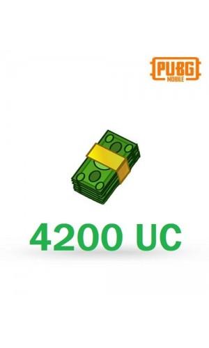 PUBG Mobile UC – 4200 Unknown Cash