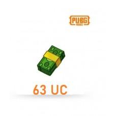 63 Unknown Cash - PUBG Mobile UC