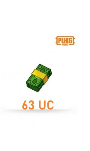 PUBG Mobile UC – 63 Unknown Cash