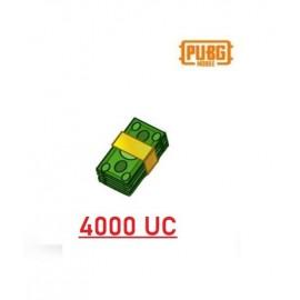 4000 Unknown Cash - PUBG Mobile UC