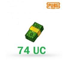 74 Unknown Cash - PUBG Mobile UC