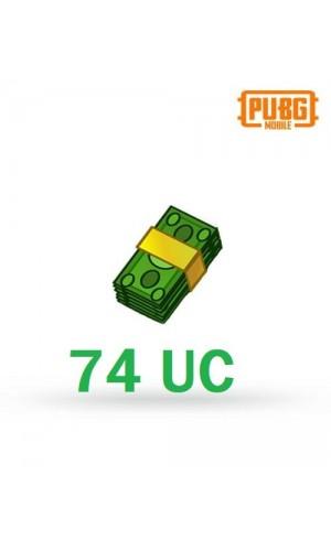 PUBG Mobile UC – 74 Unknown Cash