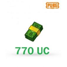 770 Unknown Cash - PUBG Mobile UC