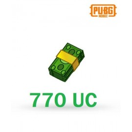 770 Unknown Cash - PUBG Mobile UC