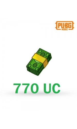 PUBG Mobile UC – 770 Unknown Cash