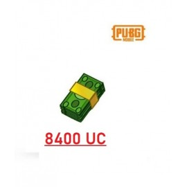 8400 Unknown Cash - PUBG Mobile UC