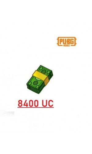 PUBG Mobile UC – 8400 Unknown Cash - PUBG Mobile UC