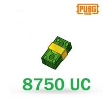 8750 Unknown Cash - PUBG Mobile UC