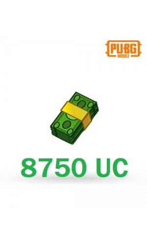 PUBG Mobile UC – 8750 Unknown Cash - PUBG Mobile UC