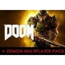 DOOM + DEMON MULTIPLAYER PACK DLC STEAM CD KEY-PC Code