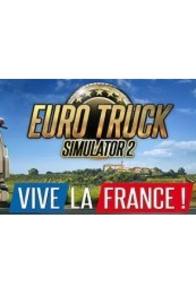 EURO TRUCK SIMULATOR 2 - VIVE LA FRANCE DLC STEAM CD KEY-PC