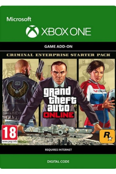Grand Theft Auto (GTA V) Criminal Enterprise Starter Pack DLC Xbox One-PC  Code