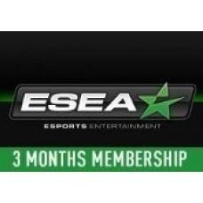 ESEA 3-MONTH PREMIUM MEMBERSHIP KEY- PC Code