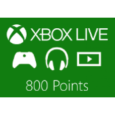 XBOX LIVE 800 POINTS EU-PC Code