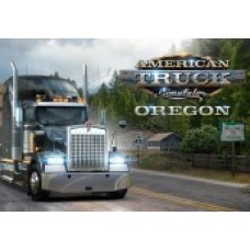 AMERICAN TRUCK SIMULATOR - OREGON DLC STEAM CD KEY-PC Code
