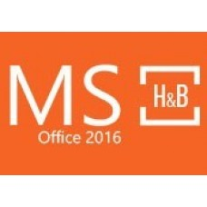 MS OFFICE 2016 HOME AND BUSINESS RETAIL KEY-PC Code
