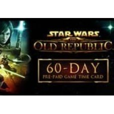 STAR WARS: THE OLD REPUBLIC 60-DAY PRE-PAID TIME CARD-PC Code